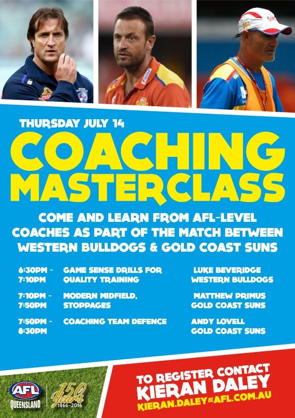 2016 Cairns Coaching Masterclass (2)